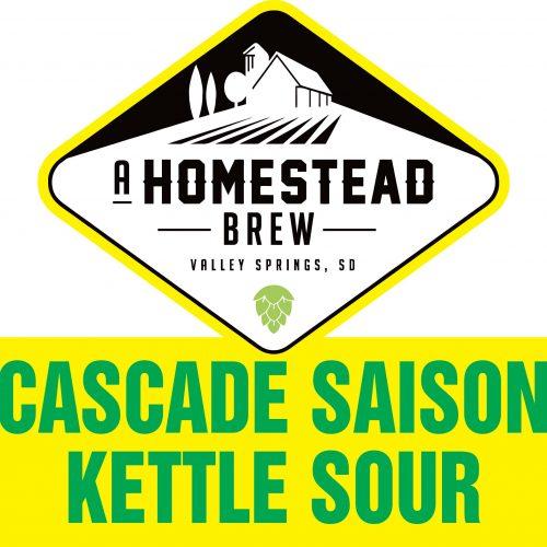 Cascade Saison Kettle Sour