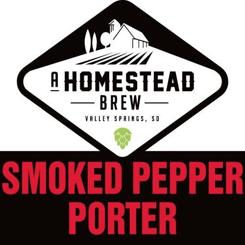 Smoked Pepper Porter